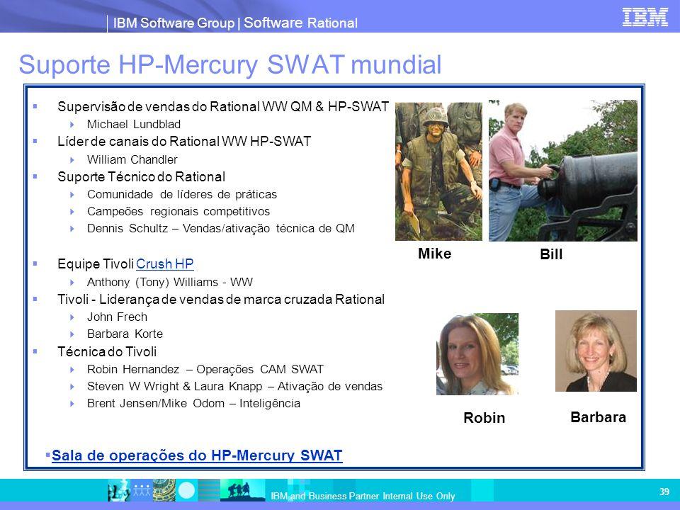 Suporte HP-Mercury SWAT mundial