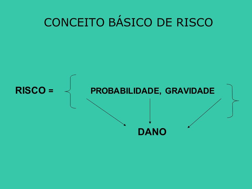 CONCEITO BÁSICO DE RISCO