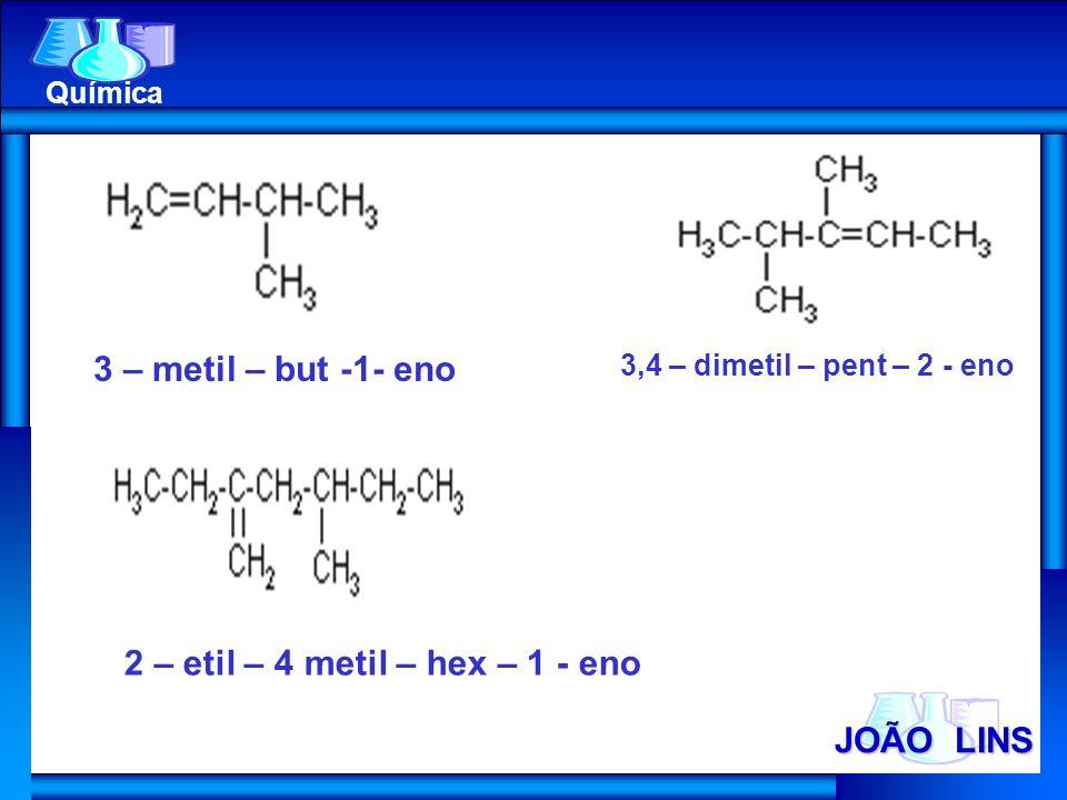 2 – etil – 4 metil – hex – 1 - eno
