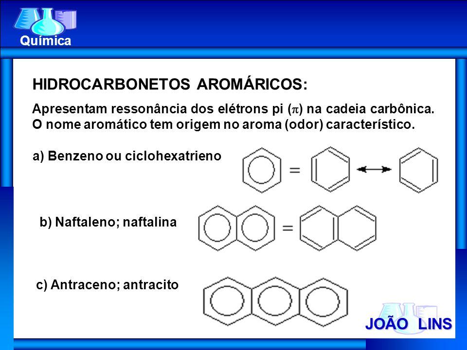 HIDROCARBONETOS AROMÁRICOS: