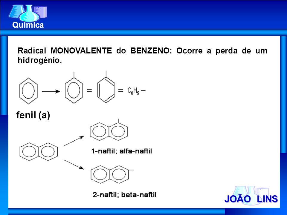 fenil (a) JOÃO LINS Química