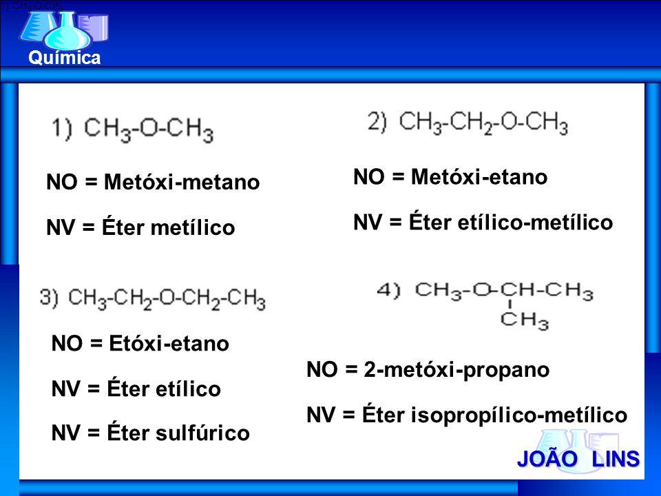 NV = Éter etílico-metílico NO = Metóxi-metano NV = Éter metílico