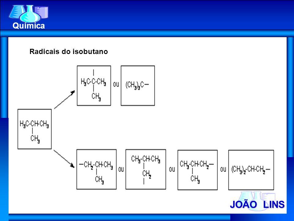 Química Radicais do isobutano JOÃO LINS