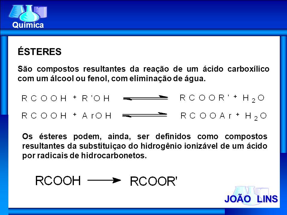 ÉSTERES JOÃO LINS Química