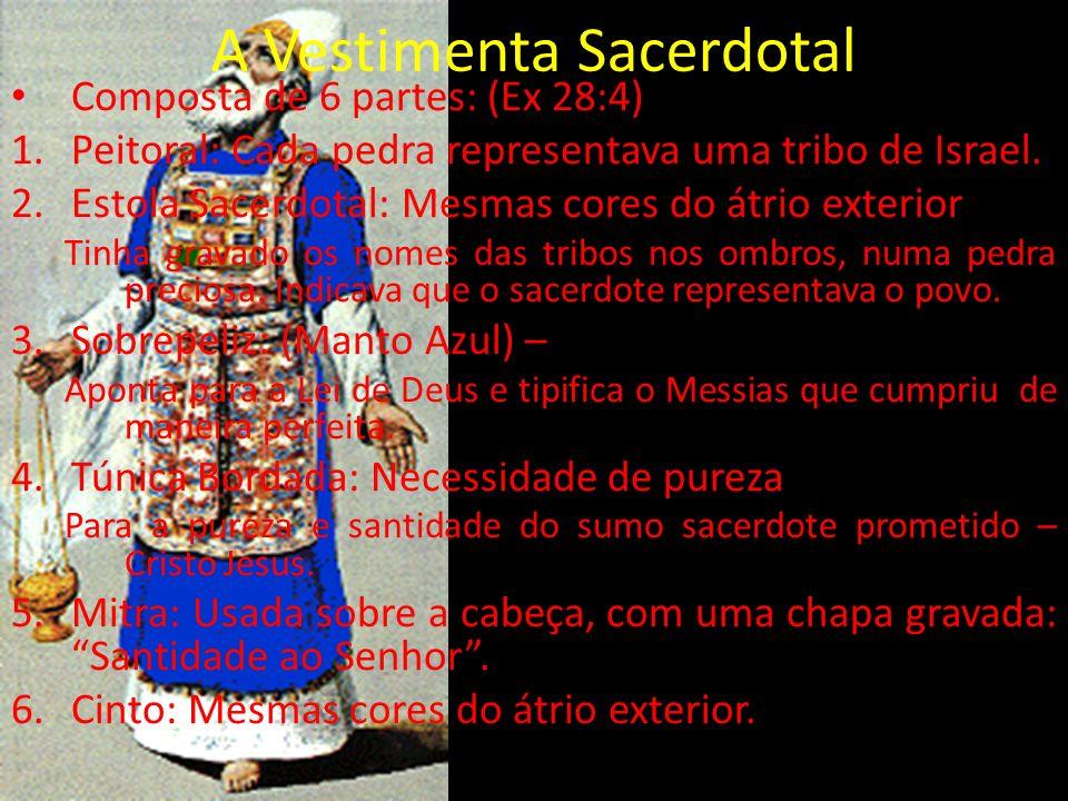 A Vestimenta Sacerdotal