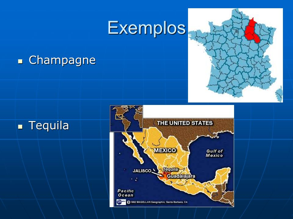 Exemplos Champagne Tequila