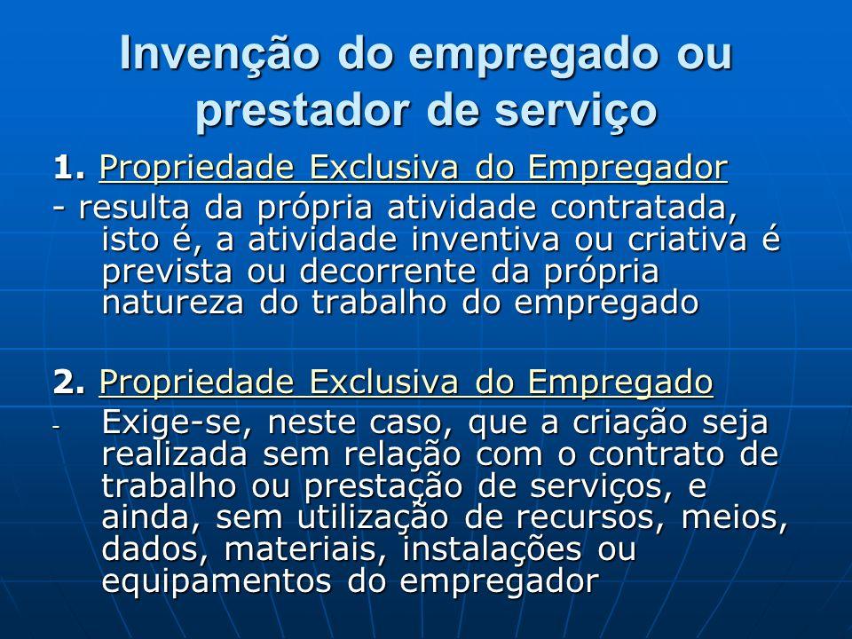 Invenção do empregado ou prestador de serviço