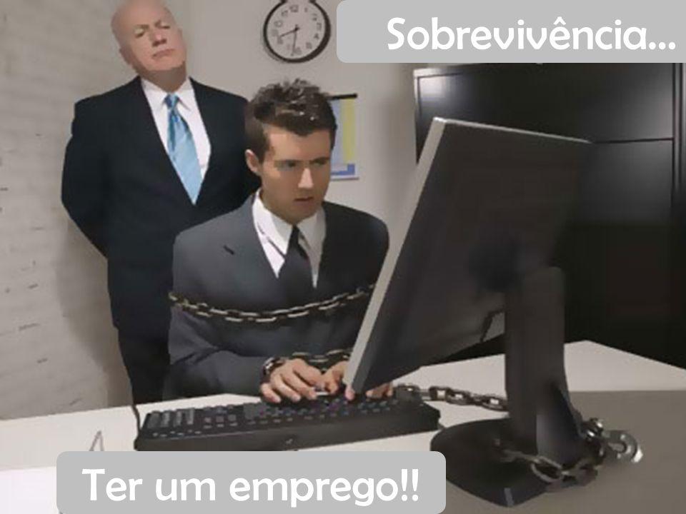 Sobrevivência… Ter um emprego!!