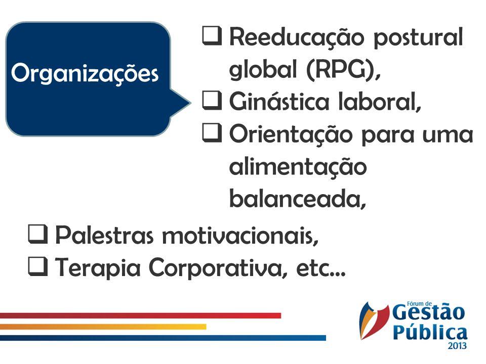 Reeducação postural global (RPG),
