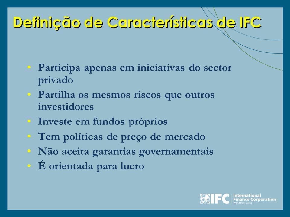 Definição de Características de IFC
