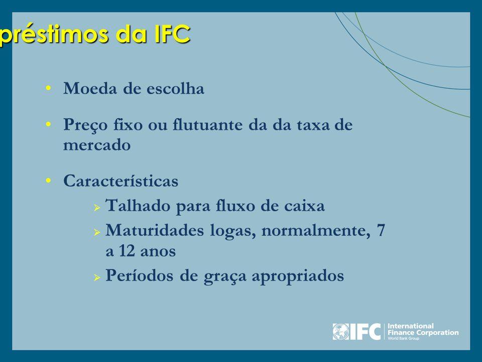 Empréstimos da IFC Moeda de escolha