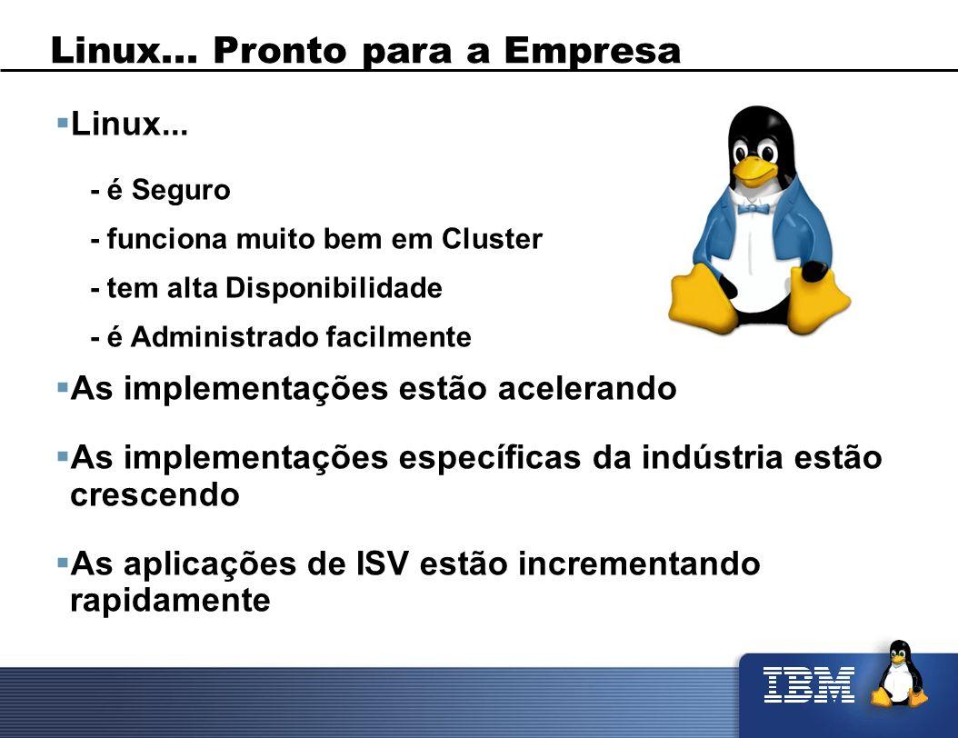 Linux... Pronto para a Empresa