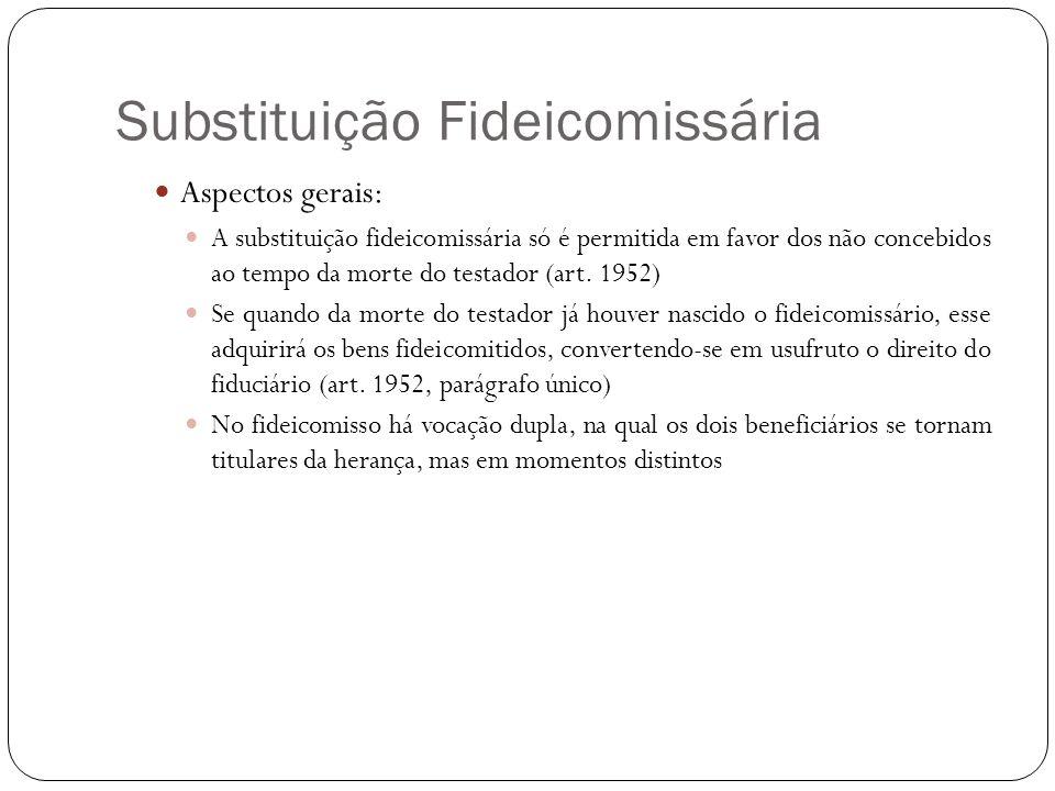 Substituição Fideicomissária