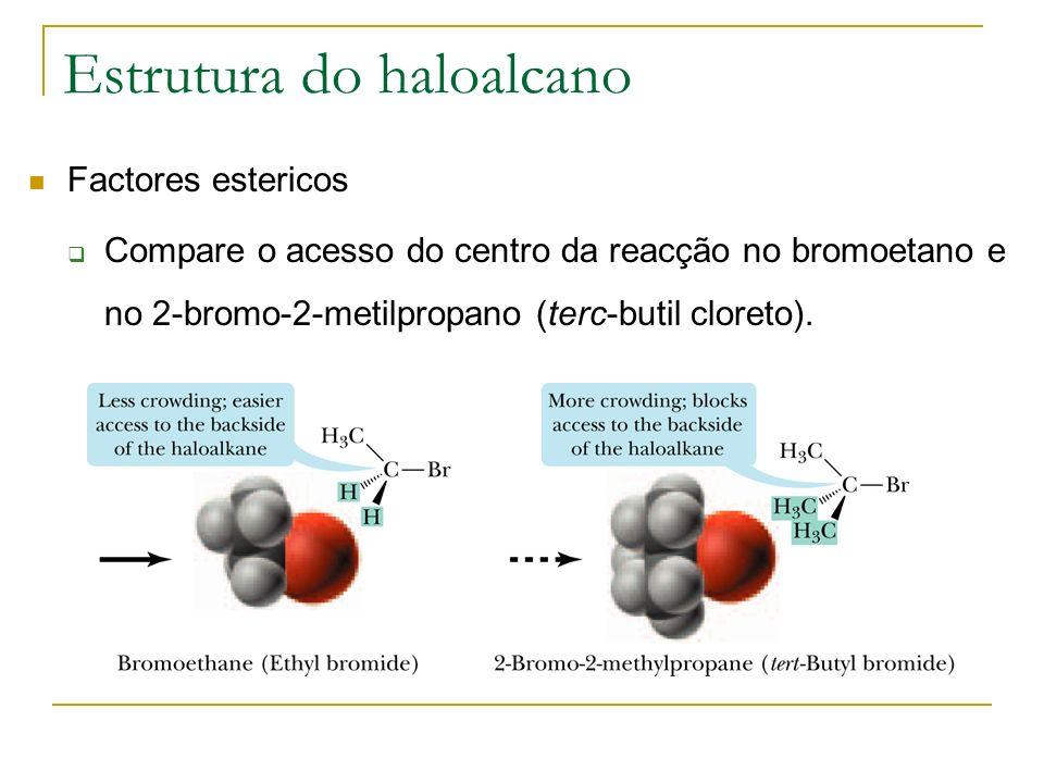 Estrutura do haloalcano
