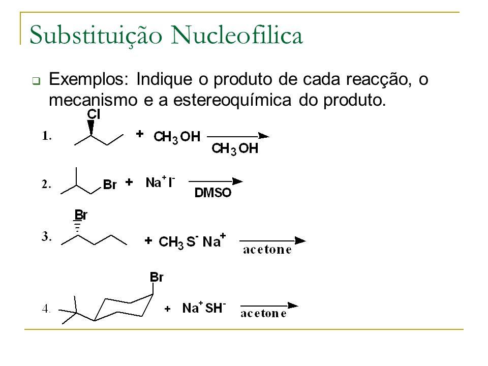 Substituição Nucleofilica