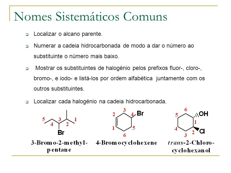 Nomes Sistemáticos Comuns