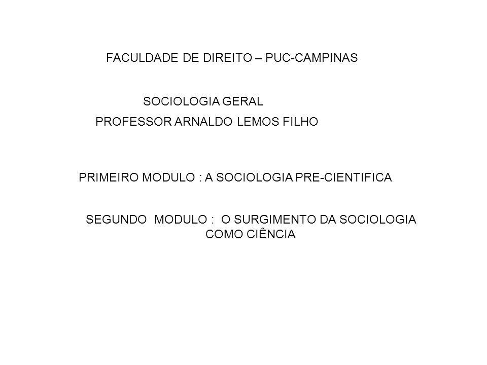 FACULDADE DE DIREITO – PUC-CAMPINAS
