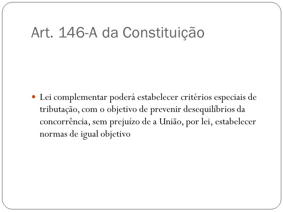 Art. 146-A da Constituição