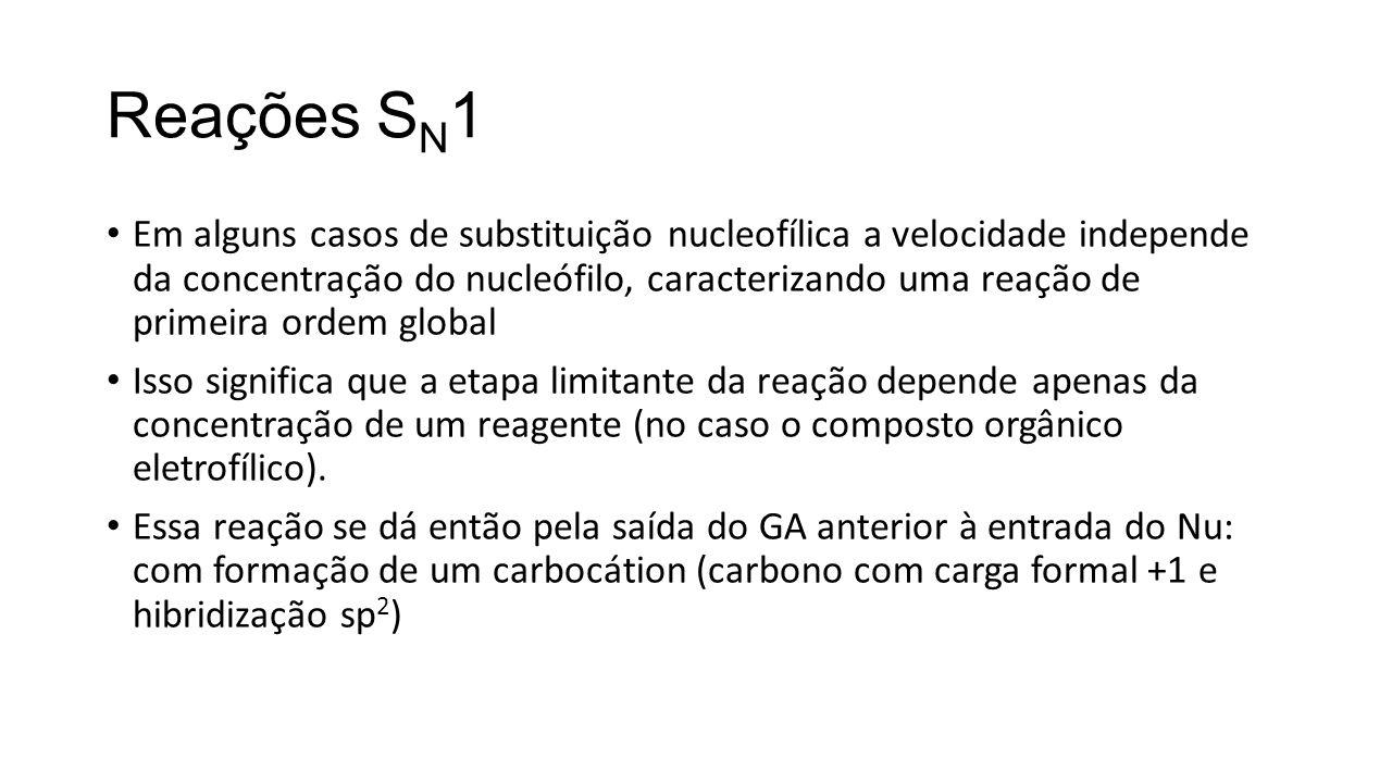 Reações SN1