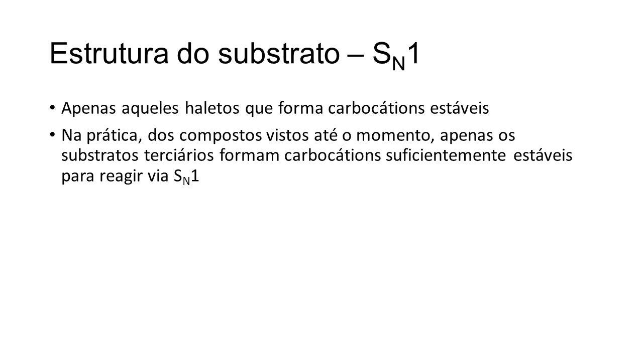 Estrutura do substrato – SN1