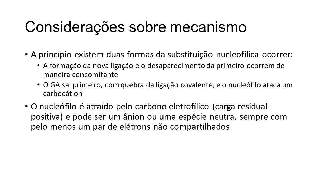 Considerações sobre mecanismo