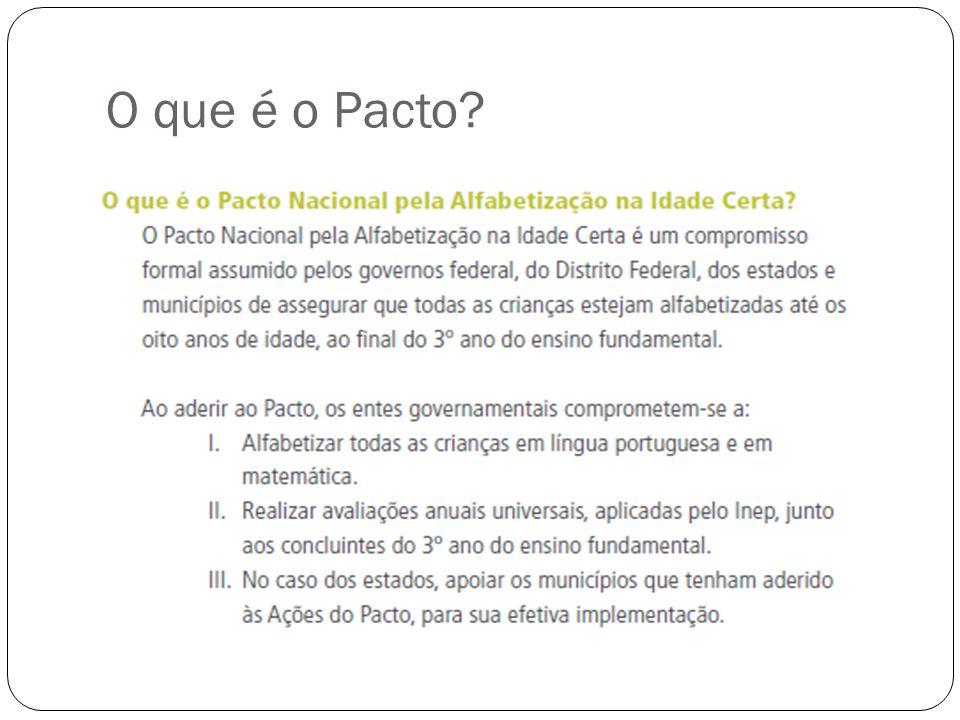 O que é o Pacto