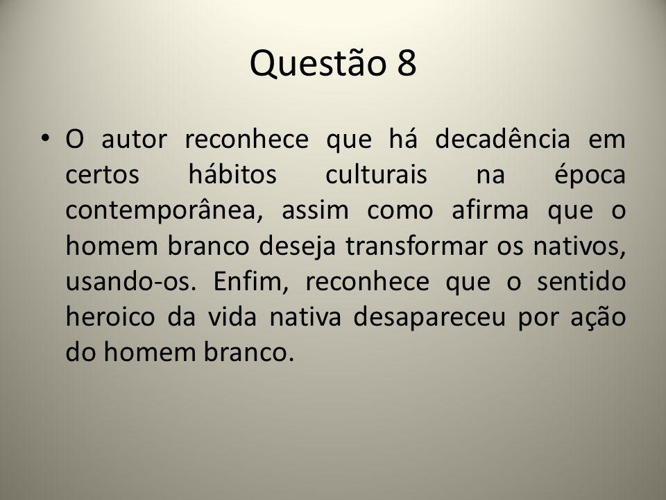 Questão 8