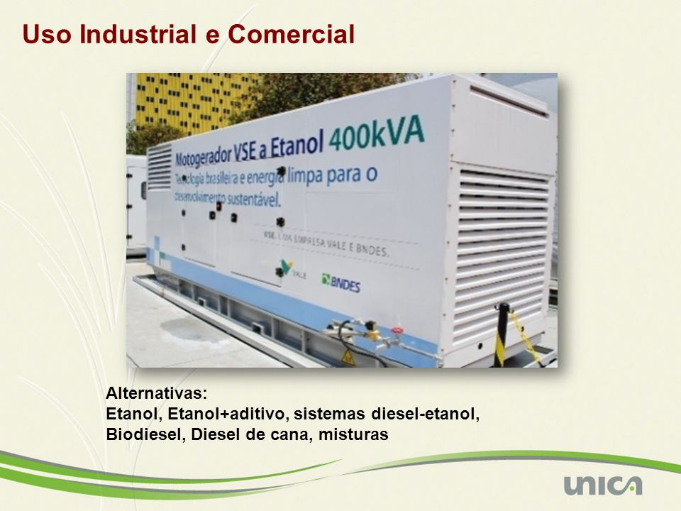 Uso Industrial e Comercial