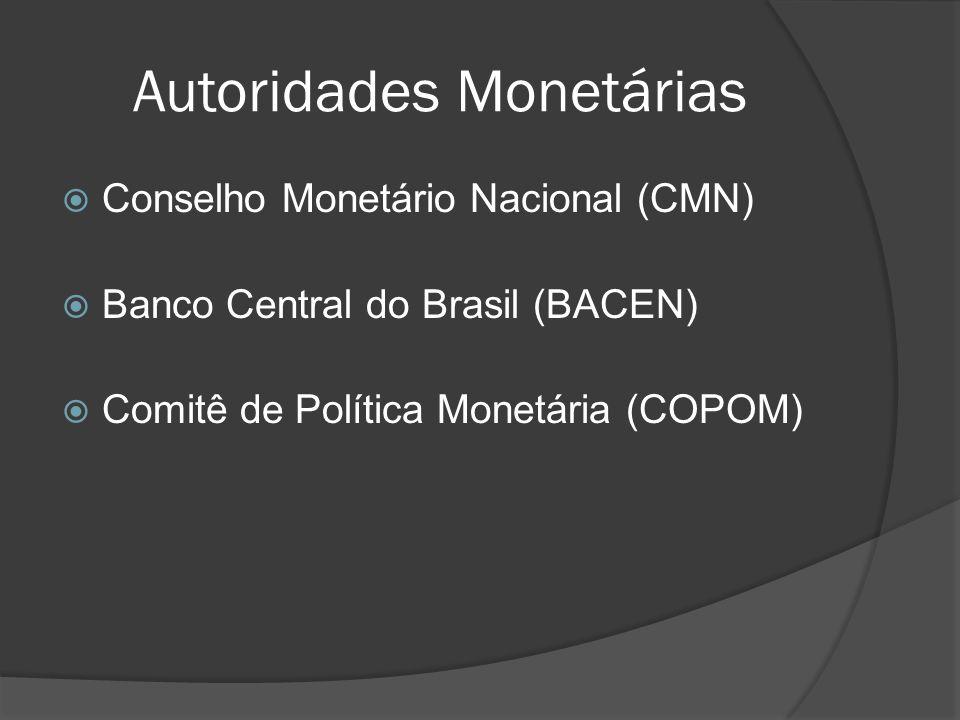 Autoridades Monetárias