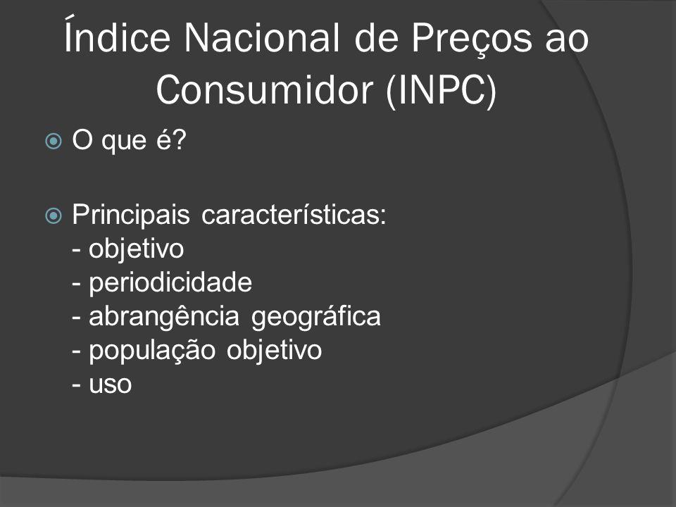 Índice Nacional de Preços ao Consumidor (INPC)