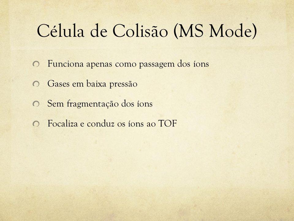 Célula de Colisão (MS Mode)