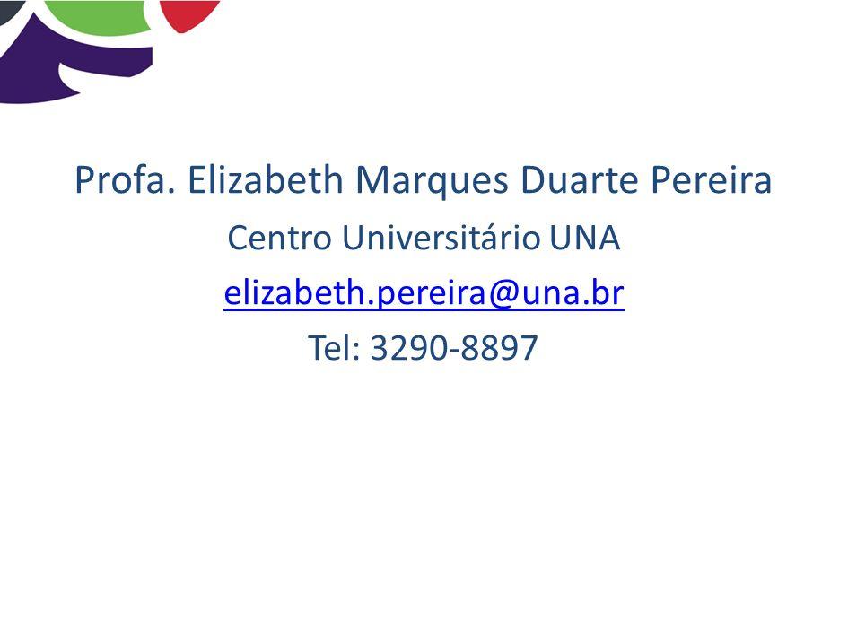 Profa. Elizabeth Marques Duarte Pereira