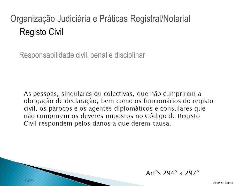 Responsabilidade civil, penal e disciplinar