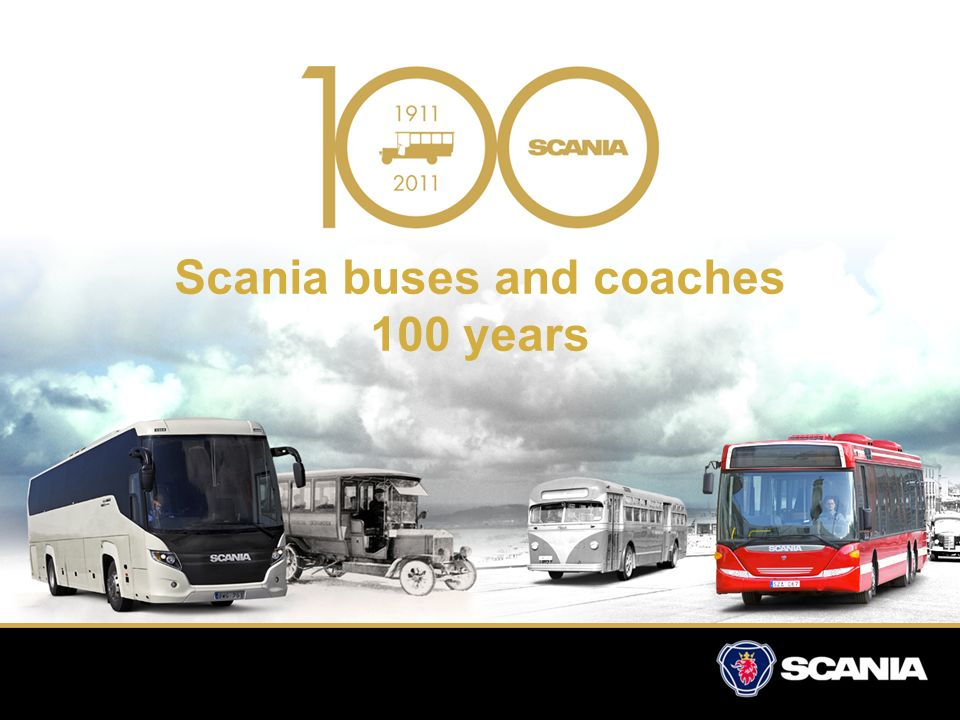 Scania buses and coaches 100 years