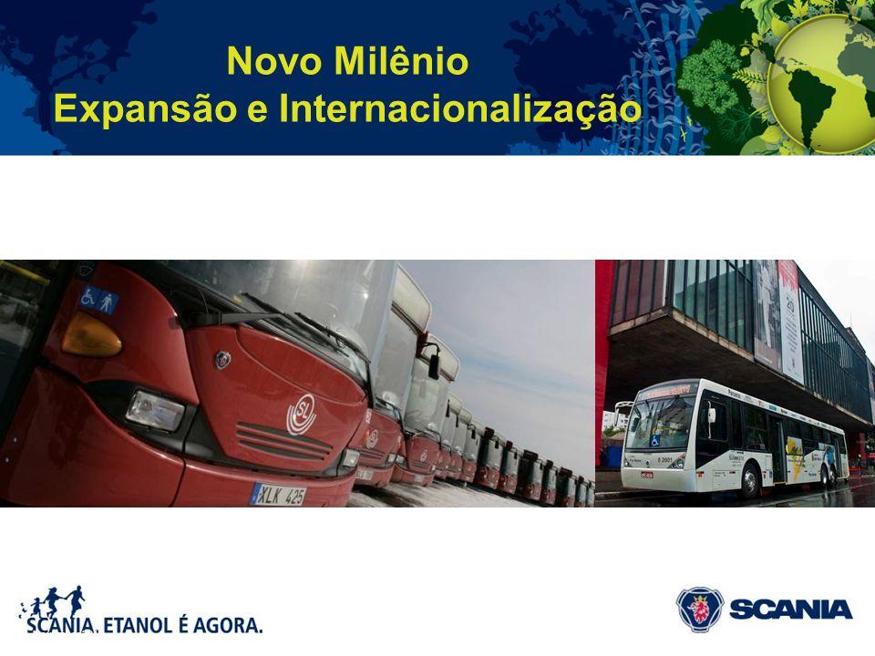 Novo Milênio Expansão e Internacionalização