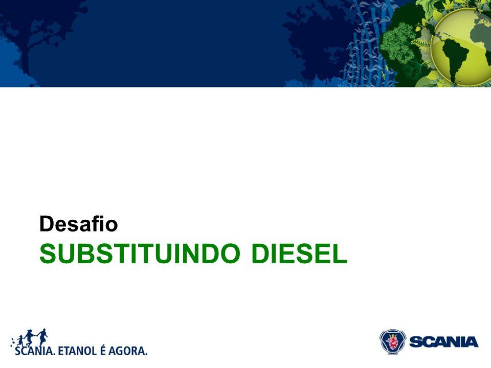 Desafio Substituindo diesel