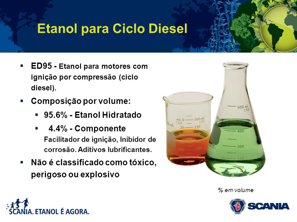 Etanol para Ciclo Diesel