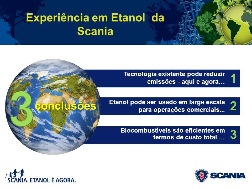 Experiência em Etanol da Scania