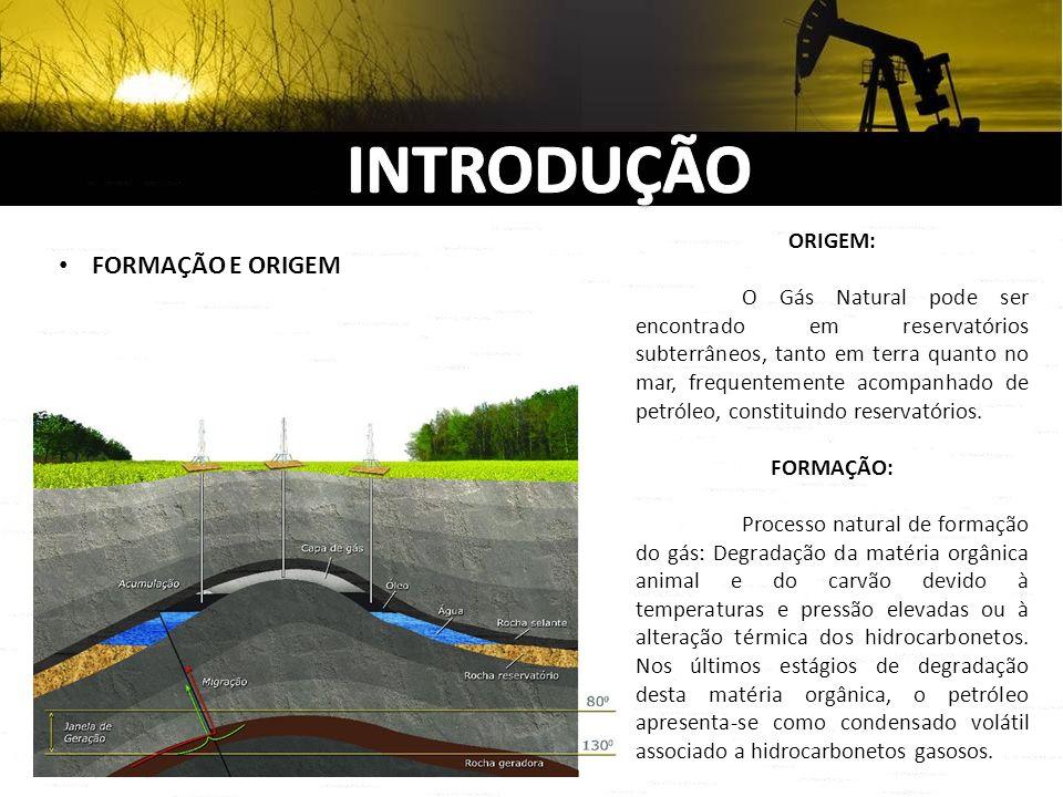 INTRODUÇÃO FORMAÇÃO E ORIGEM ORIGEM:
