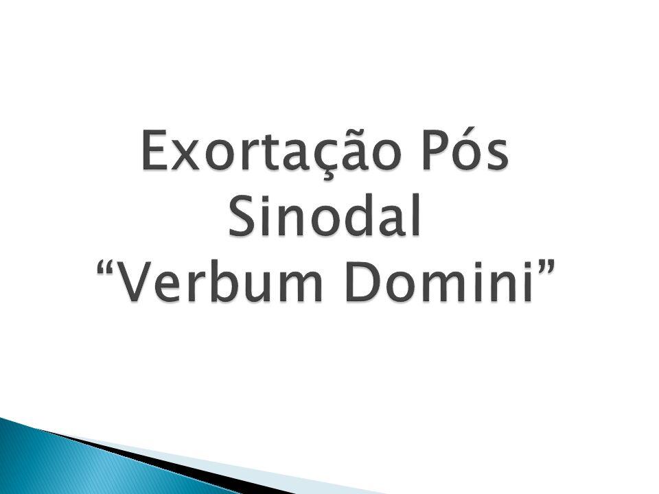 Exortação Pós Sinodal Verbum Domini