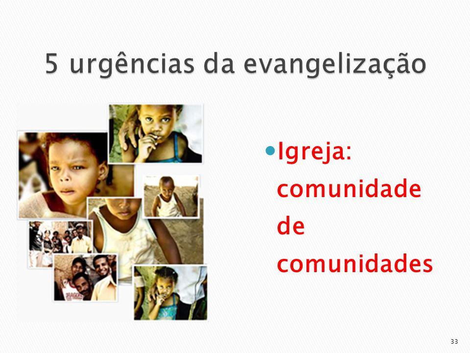 5 urgências da evangelização
