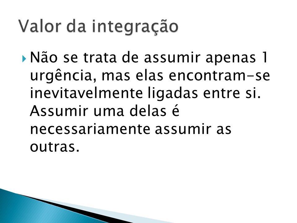 Valor da integração