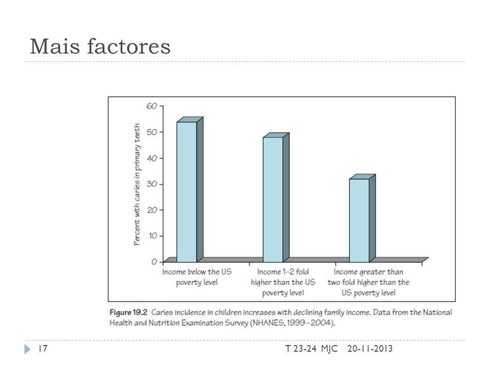 Mais factores T 23-24 MJC 20-11-2013