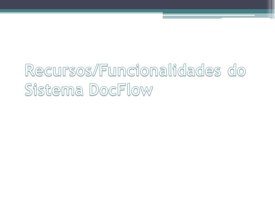 Recursos/Funcionalidades do Sistema DocFlow