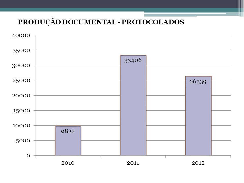 PRODUÇÃO DOCUMENTAL - PROTOCOLADOS