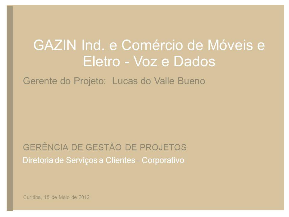 GAZIN Ind. e Comércio de Móveis e Eletro - Voz e Dados