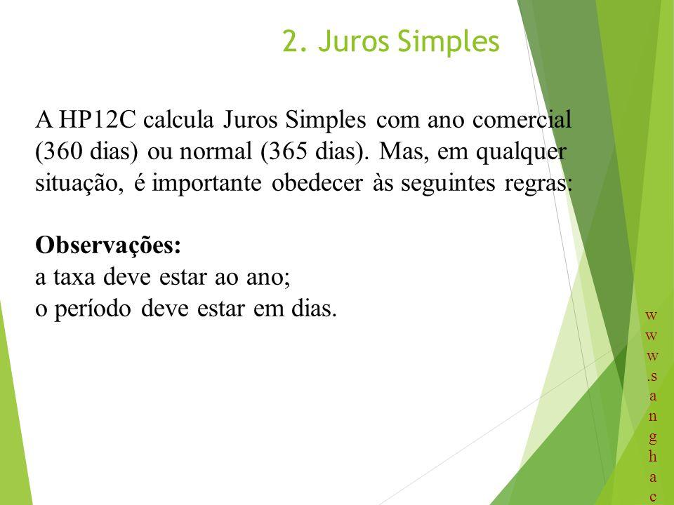 2. Juros Simples