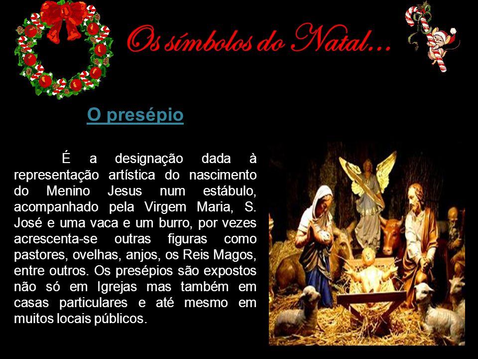 Os símbolos do Natal… O presépio