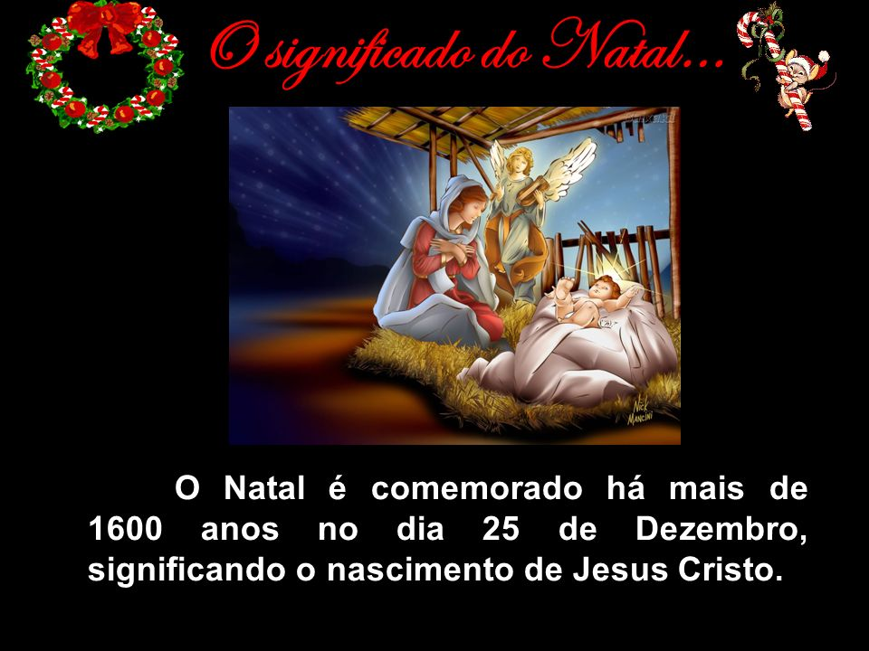 O significado do Natal…
