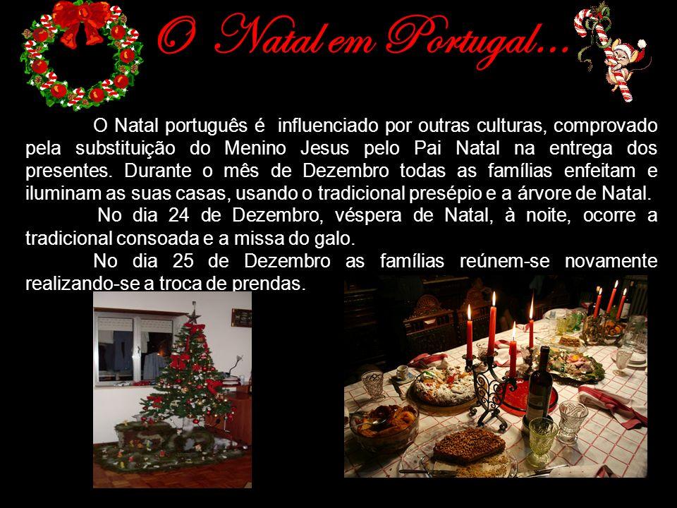 O Natal em Portugal…